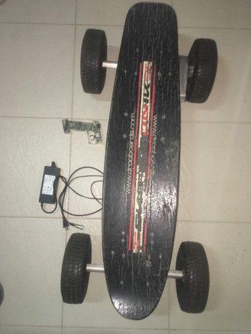 Vendo Skate Elétrico Dropboard 800W. - Foto 3