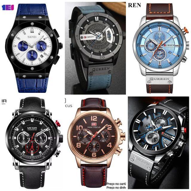 Relógios masculinos originais exclusivos - Foto 4