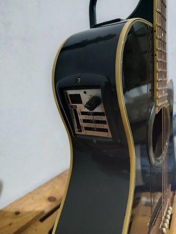 Violão Yamaha APX700 troco em Violão de Nylon e Bicicleta. - Foto 3