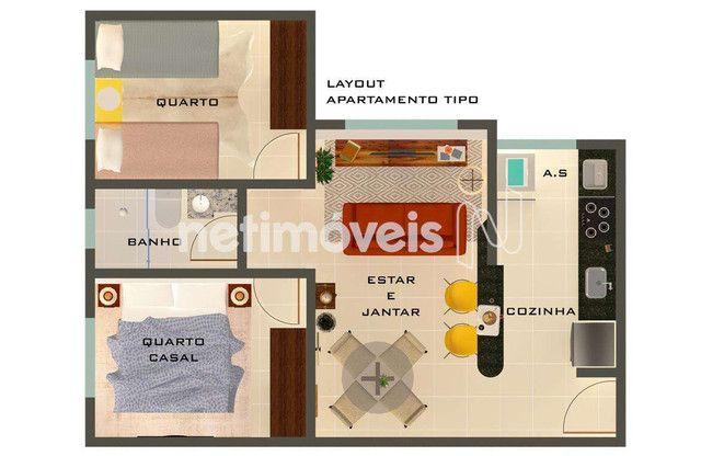 Apartamento à venda com 2 dormitórios em Santa mônica, Belo horizonte cod:784434 - Foto 4