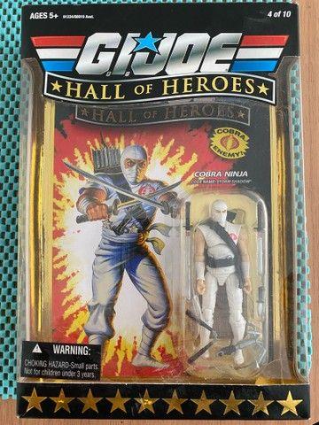 Cobra de Gelo Hall Of Heroes NOVO