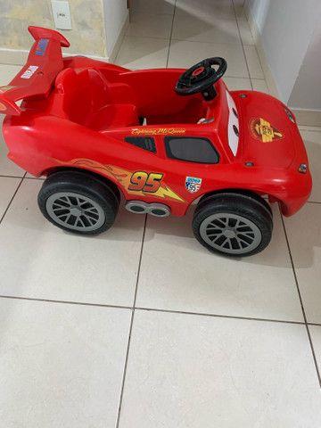 Carro pedal Relâmpago McQueen  - Foto 2
