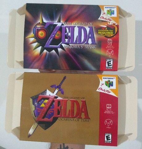 Caixas para Cartuchos de Nintendo 64 - Foto 2