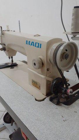 Maquina de costura reta industrial