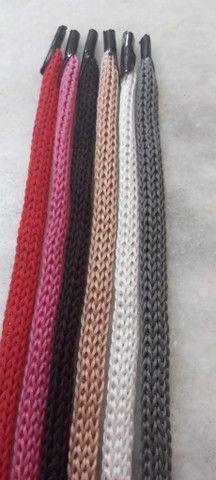 (Fábrica) Cordões (em Polipropileno) P/ Sacolas - Com Ponteira (1.000unid) - Flex Cordões - Foto 4
