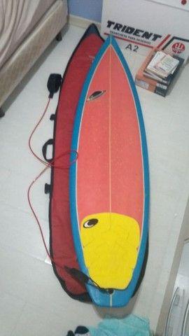 Prancha de Surf + Capa + Lycra - Foto 4