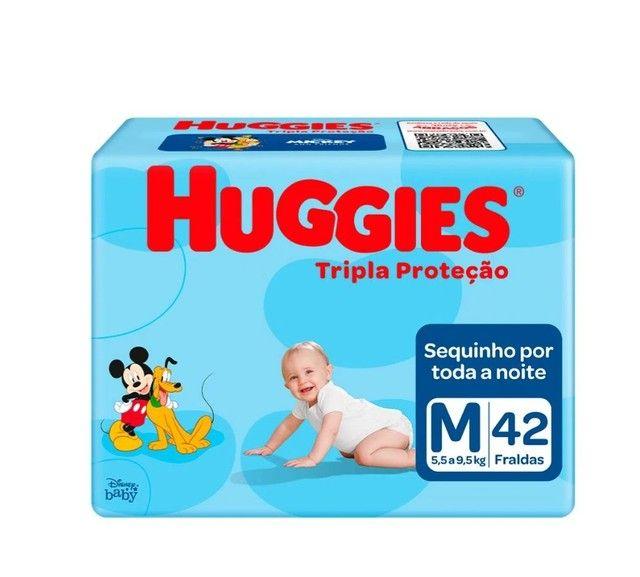 Fralda Huggies Tripla Proteção M 42 Unidades