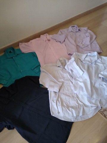 Lote camisas Tam 3 adulto - Foto 2
