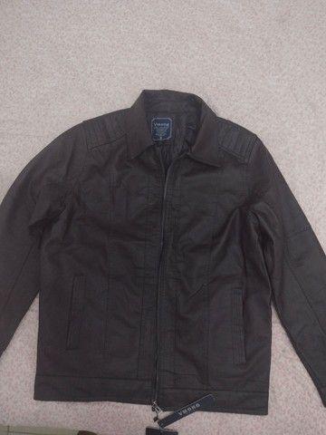 Uma jaqueta de couro legítimo  - Foto 2
