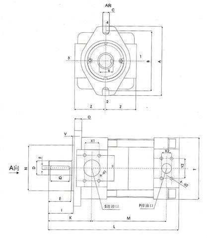Bomba Hidraúlica - Marca Maote Hydraulic - À Pronta Entrega - Foto 2