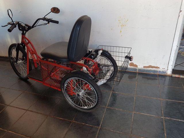 Triciclo motorizado 49cc 4t - Foto 4