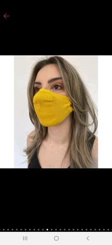Mascara de tricô - TOP das blogueiras - Foto 2