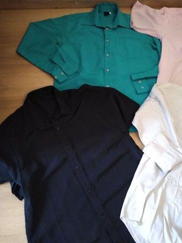 Lote camisas Tam 3 adulto - Foto 5