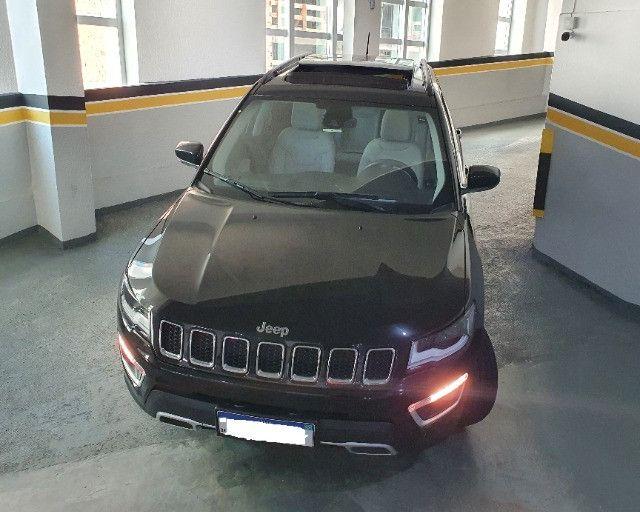 Jeep Compass Limited Diesel com Teto Solar, Park Assist (estaciona sozinho), 18/18 - Foto 19