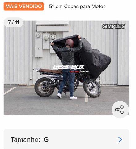 Capa para moto Bigtrail - Foto 3