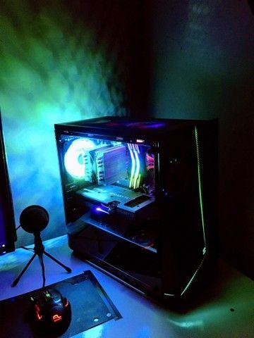 Pc Gamer Completo, Ryzen 5 + RTX 3060 12GB, Com Monitor, leía a descrição  - Foto 4