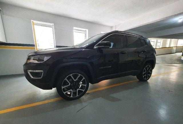 Jeep Compass Limited Diesel com Teto Solar, Park Assist (estaciona sozinho), 18/18 - Foto 6