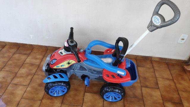 Motoca que vira Triciclo METADE DO PREÇO - Foto 4