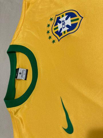 Camisa Seleção Brasileira - Foto 3