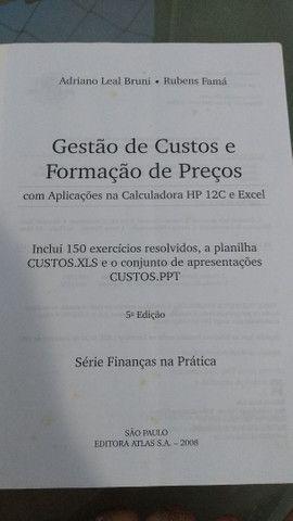 Livro Gestão de Custos e Formação de Preços - Foto 3