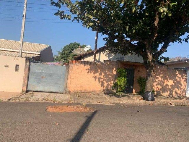 Casa e terreno com área total 312m² - Morumbi - Ribeirão Bonito/SP