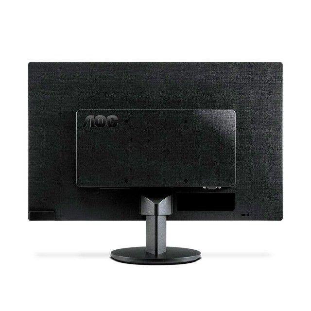 "Monitor AOC 21,5"" Hdmi LED - Novo - Loja Física - Foto 3"