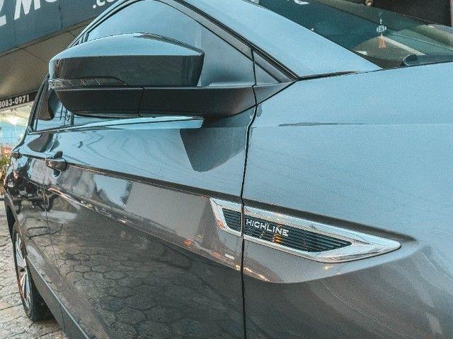 VW T-Cross (2020) Cinza - Versão TOP de Linha Highline com Parl Assist, Som Beats ! - Foto 3