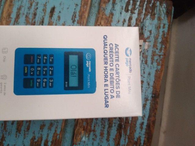Máquina de cartão de débito e crédito - Foto 3