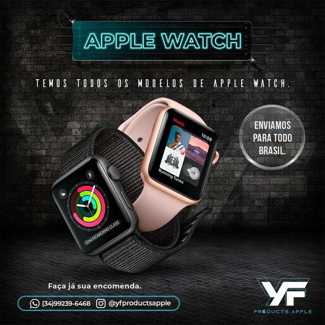 Apple Watch Series 4 Prata 44MM  - IMPECÁVEL  - Foto 5