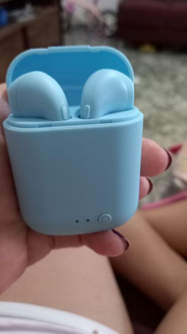 Fone sem fio i7 Bluetooth 5.0 - Foto 3