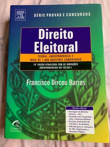 Livro de Direito Eleitoral Usado