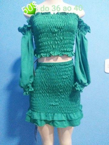 Lindos conjuntos e vestido lastex  - Foto 4