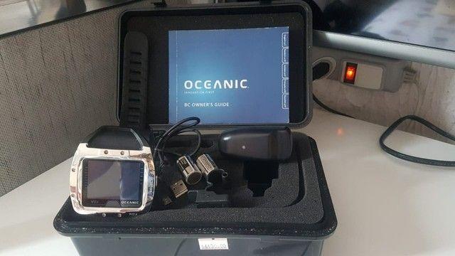 Vendo Computador Mergulho Oceanic VTX - o mais completo - novo - Foto 4