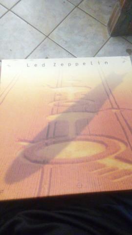 Vendo album de disco led zappelin