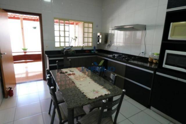 Casa com 3 dormitórios à venda, 125 m² por r$ 290.000,00 - residencial recanto do bosque - - Foto 10