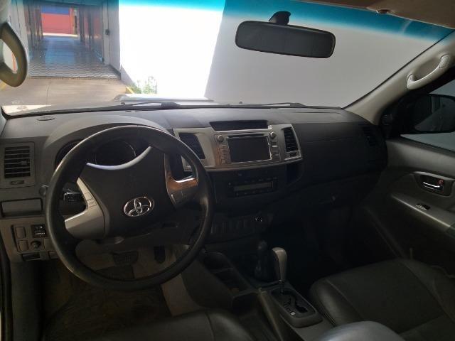 Hilux 2012 SRV Turbo Diesel 4X4 Abaixo da Fipe - Foto 7