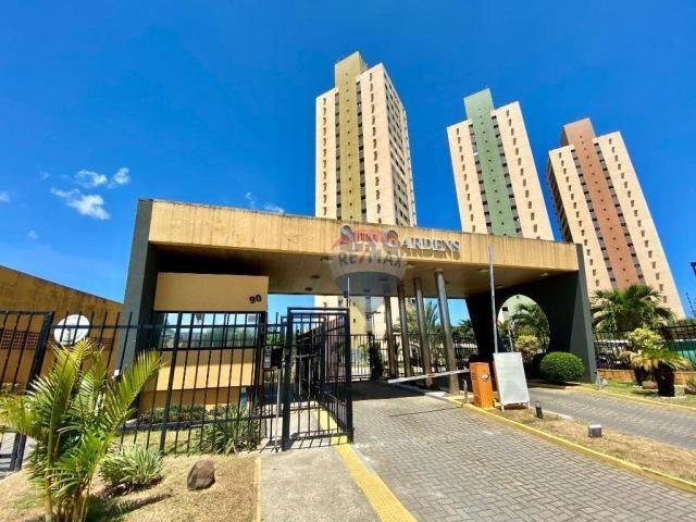 Apartamento com 2 dormitórios à venda, 59 m² por r$ 190.000 - pitimbu - natal/rn sun garde
