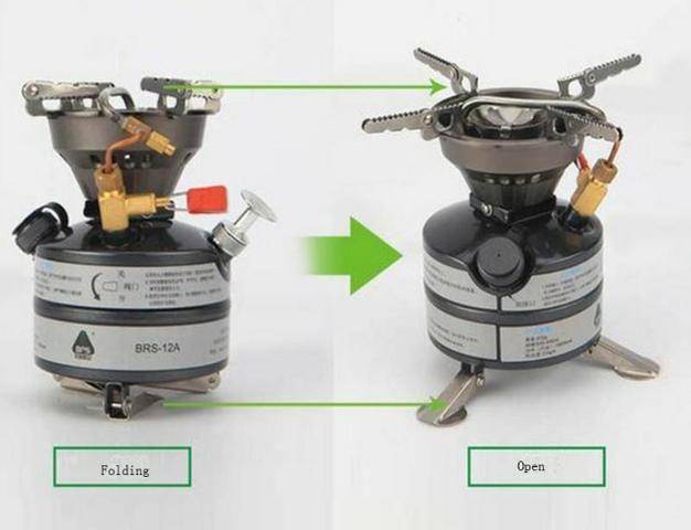 Fogareiro multi combustível BRS 12; novo - Foto 2