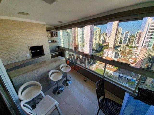 Apartamento com 4 suítes à venda, 170 m² por R$ 960.000 - Setor Bueno - Goiânia/GO - Foto 13