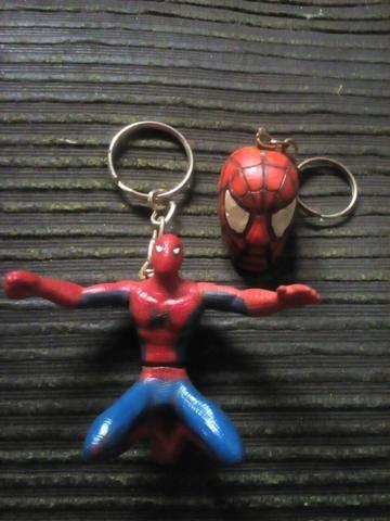 Homem Aranha chaveiros