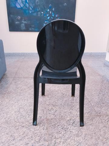 Cadeira Vitoria Ghost Tok Stok