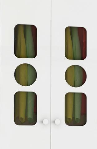 Roupeiro Infantil Guarda Roupas 3 portas 3 gavetas - Tedy *NOVO* ShopMix Móveis - Foto 3