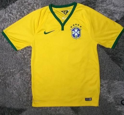 Raridade!! camisa da seleção brasileira 2014