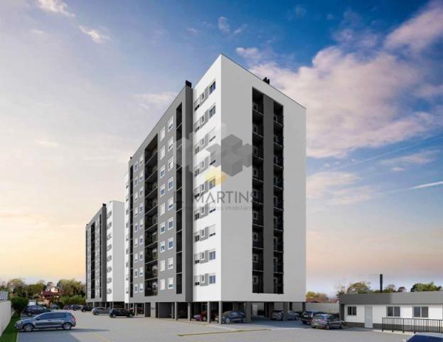 Apartamento para venda em novo hamburgo, rondônia, 2 dormitórios, 1 banheiro, 1 vaga - Foto 3