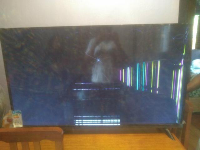 Tv 49 polegadas para retirada de peças