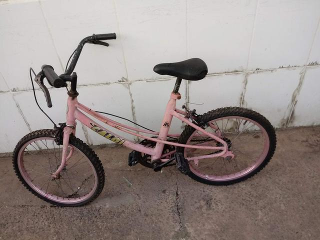 Bicicleta infantil aro 20 - Foto 2