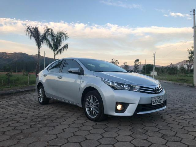 Toyota Corolla Altis Top de linha Único dono Baixo KM