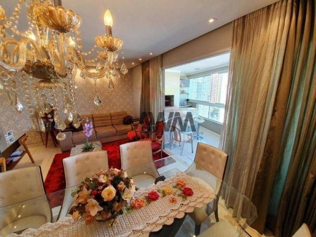 Apartamento com 4 suítes à venda, 170 m² por R$ 960.000 - Setor Bueno - Goiânia/GO - Foto 3