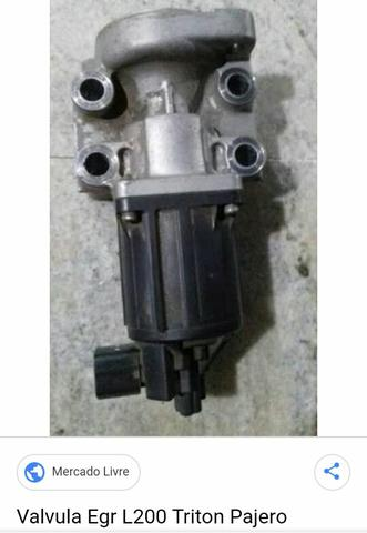 Válvula EGR da L200 Triton 3.2 Diesel , Pajero