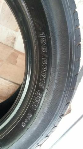 2 dois pneus novos